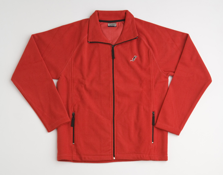 Fixe Fleece Jacket -Rojo-