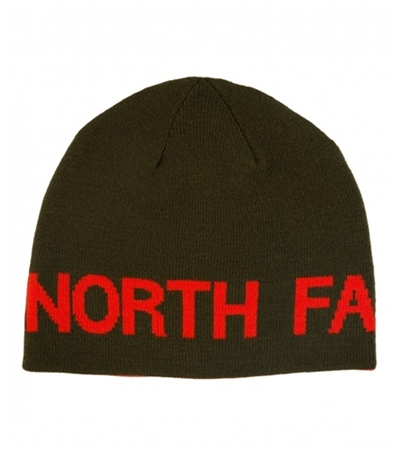 Gorro The North Face Reversible Banner -Marrón / Rojo-